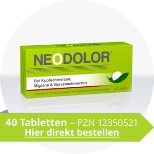Neodolor 40 Tabletten direkt bestellen