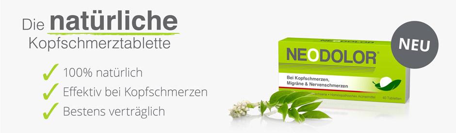 Neodolor - effektiv bei Kopfschmerzen, Migräne und Nervenschmerzen