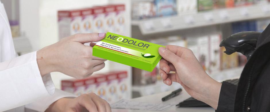 Apothekerin verkauft Neodolor