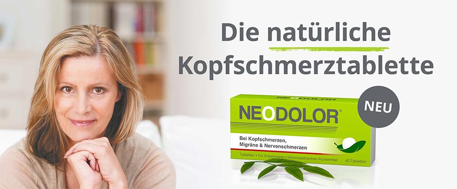 Neodolor - die natürliche Kopfschmerztablette