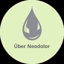 Schematische Darstellung Neodolor - die Kopfschmerztablette mit natürlicher Wirkung