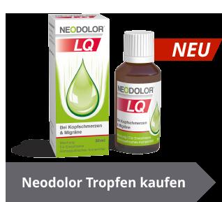 Neodolor kaufen und Kopfschmerzen behandeln - aber natürlich!